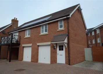 Thumbnail 2 bed maisonette for sale in Thapa Close, Church Crookham, Hampshire