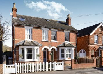 Thumbnail 5 bed semi-detached house for sale in Abbey Road, Chertsey