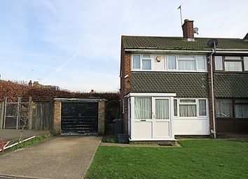 Thumbnail 3 bed end terrace house for sale in Channel Close, Heston, Hounslow