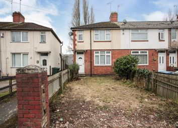 Thumbnail 2 bed end terrace house for sale in Parkgate Road, Coventry, West Midlands