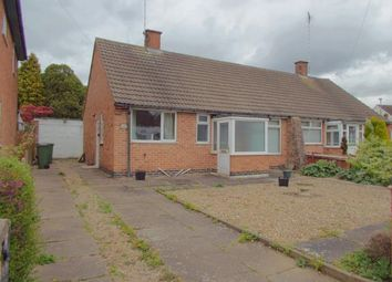 Thumbnail 2 bed bungalow for sale in Cottage Row, Braunstone Town, Leicester, Leicestershire