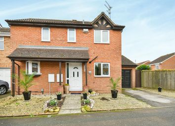 Thumbnail 3 bedroom detached house for sale in Godwin Road, Stratton, Swindon