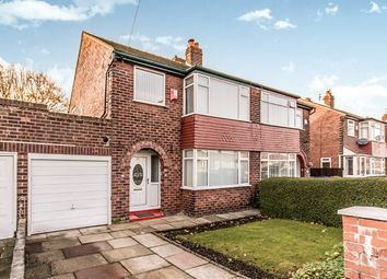 Thumbnail 3 bedroom semi-detached house for sale in Schools Road, Abbey Hey, Manchester