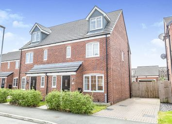 Thumbnail 4 bed semi-detached house for sale in Walnutwood Avenue, Bamber Bridge, Preston