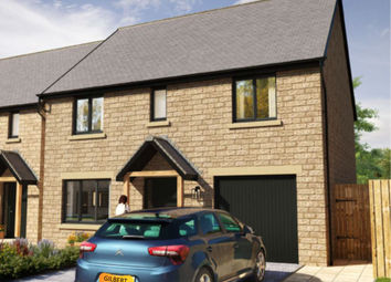 Thumbnail 4 bed detached house for sale in Eastlands, Kirkwhelpington, Newcastle Upon Tyne