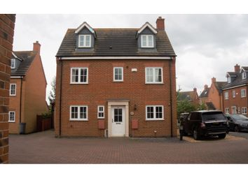 Thumbnail 5 bed detached house for sale in Parker Close, Stamford