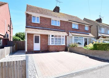 Thumbnail 3 bed semi-detached house for sale in Invicta Road, Margate, Kent