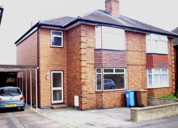 Thumbnail 3 bedroom semi-detached house to rent in St. Wystans Road, Derby