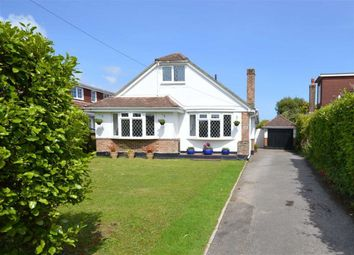 Thumbnail 4 bedroom chalet for sale in Barton Lane, Barton On Sea, New Milton