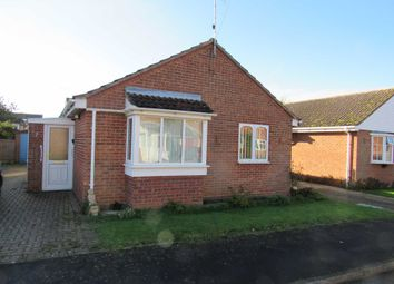Thumbnail 2 bed detached bungalow for sale in Johnson Crescent, Heacham, King's Lynn