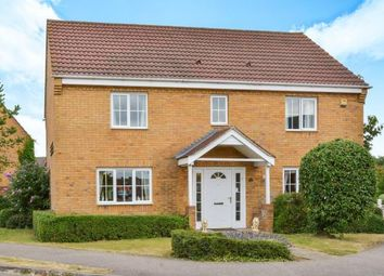 Thumbnail 4 bed detached house for sale in Chapmans Drive, Old Stratford, Milton Keynes, Northamptonshire