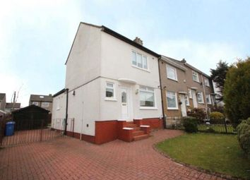 Thumbnail 2 bed end terrace house for sale in Tiverton Avenue, Glasgow, Lanarkshire
