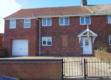 Thumbnail 4 bed semi-detached house to rent in Axwell Drive, Blyth