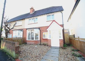 Thumbnail 4 bed semi-detached house to rent in Havelock Road, Bognor Regis