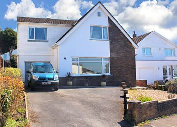Thumbnail 3 bedroom detached house for sale in Long Shepherds Drive, Caswell, Swansea, West Glamorgan.