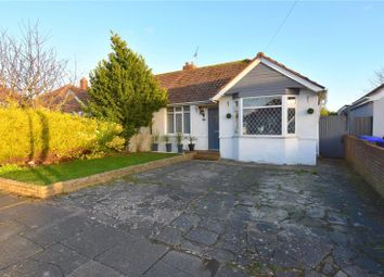 Thumbnail 3 bedroom semi-detached bungalow for sale in Sedbury Road, North Sompting, West Sussex