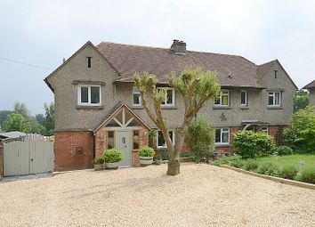 Thumbnail 4 bed semi-detached house for sale in Bath Road, Woolhampton, Reading