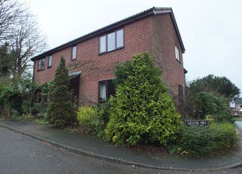 Thumbnail 1 bedroom flat for sale in Gravel Hill, Stoke Holy Cross, Norwich