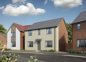"Thumbnail 4 bed detached house for sale in ""The Chedworth"" at Bridge Road, Old St. Mellons, Cardiff"