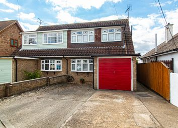 Thumbnail 3 bed semi-detached house for sale in Gravel Road, Leigh-On-Sea