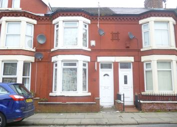 Thumbnail 3 bed terraced house to rent in Maskell Road, Liverpool