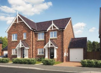Thumbnail 3 bed semi-detached house for sale in Station Road, Hadnall, Shrewsbury