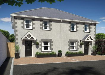 Thumbnail 3 bed semi-detached house for sale in South Terrace, Camborne