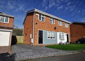 Thumbnail 2 bedroom semi-detached house for sale in Ennerdale Drive, Perton, Wolverhampton