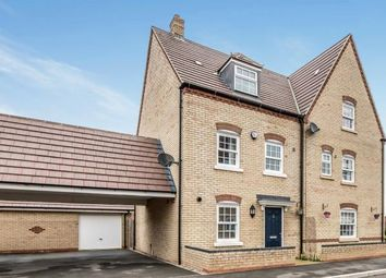 Thumbnail 4 bed semi-detached house for sale in Baker Drive, Kempston, Bedford, Bedfordshire