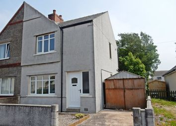 Thumbnail 2 bed semi-detached house for sale in The Crofts, Silloth, Wigton