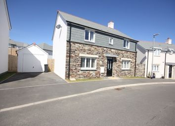 Thumbnail 4 bedroom detached house for sale in Soldon Close, Padstow