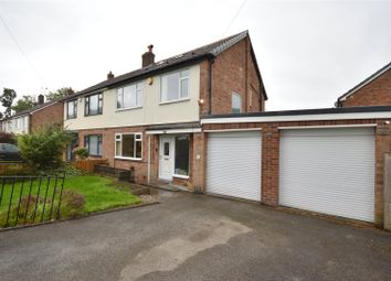 Thumbnail 4 bed semi-detached house for sale in Red Hall Gardens, Leeds, West Yorkshire
