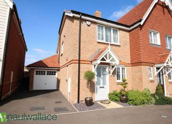 Thumbnail 2 bed semi-detached house for sale in Hastings Avenue, Cheshunt, Waltham Cross