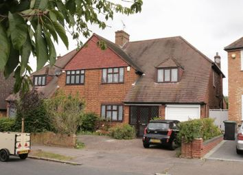 Thumbnail 4 bed semi-detached house for sale in Coolgardie Avenue, Chigwell