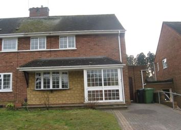 Thumbnail 2 bed semi-detached house to rent in Poolhall Road, Wolverhampton