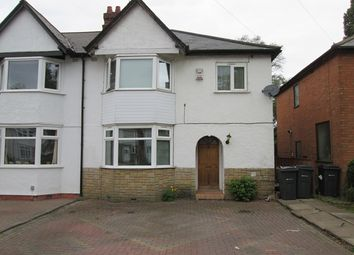 Thumbnail 4 bed semi-detached house for sale in Baldwins Lane, Hall Green, Birmingham