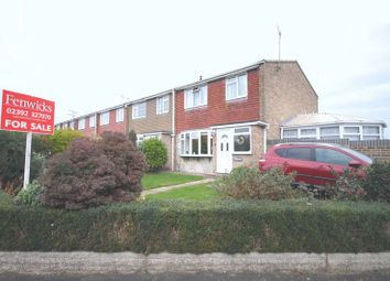 Thumbnail 3 bedroom end terrace house for sale in Watermead Road, Farlington, Portsmouth