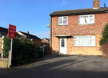 Thumbnail 3 bed property to rent in Windsor Close, Swadlincote, Derbyshire