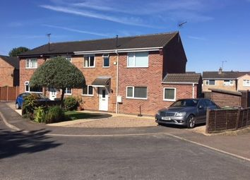 Thumbnail 3 bed semi-detached house for sale in Staveley Close, Sileby, Loughborough