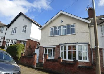 Thumbnail 6 bed semi-detached house for sale in Westfield Road, Western Park, Leicester