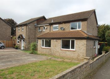 Thumbnail 2 bedroom end terrace house for sale in Shepperton Close, Lordswood, Kent