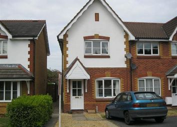 Thumbnail 2 bed terraced house to rent in Bronte Close, Rugby