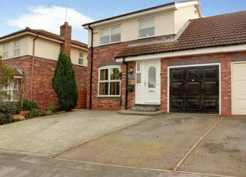 Thumbnail 3 bed link-detached house for sale in Canada Drive, Cherry Burton, Beverley
