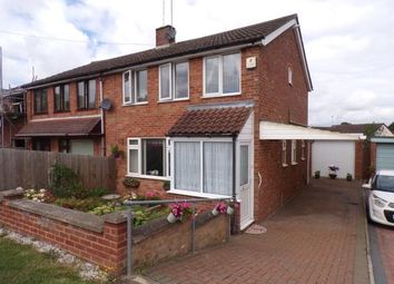 Thumbnail 3 bed semi-detached house for sale in Loxton Close, Duston, Northampton, Northamptonshire