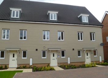 Thumbnail 3 bed terraced house to rent in Tulip Gardens, Cringleford, Norwich
