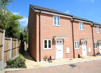 Thumbnail 2 bed end terrace house for sale in Kiln Close, Great Blakenham, Ipswich, Suffolk