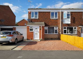 Thumbnail 3 bed semi-detached house for sale in Dickens Close, Swindon