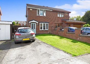 Thumbnail 2 bed semi-detached house for sale in Leveson Close, St Georges, Telford, Shropshire