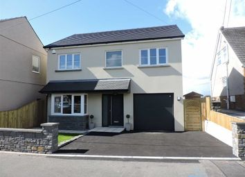 Thumbnail 4 bed detached house for sale in Heol Y Plas, Fforest, Pontarddulais, Swansea