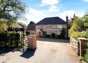 Thumbnail 5 bed detached house for sale in Horse Shoe Lane, Ibthorpe, Andover, Hampshire